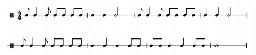 song rhythm