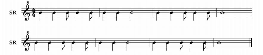 descant rhythm