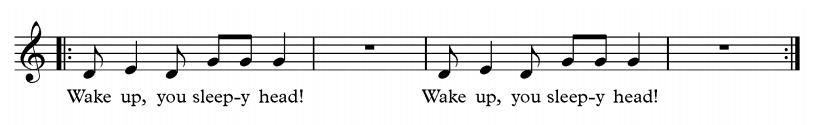wake up you sleepy head
