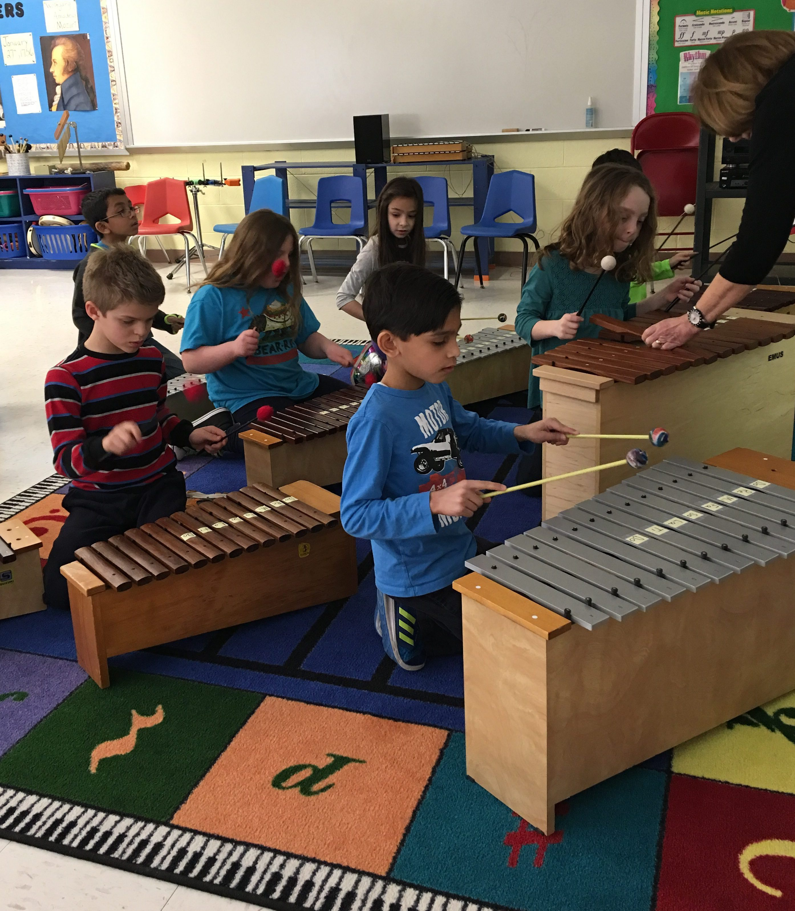 Elementary Classroom Games : Scariest instrument restoration teaching with orff
