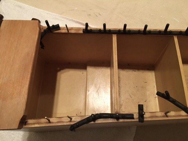 resonator box before