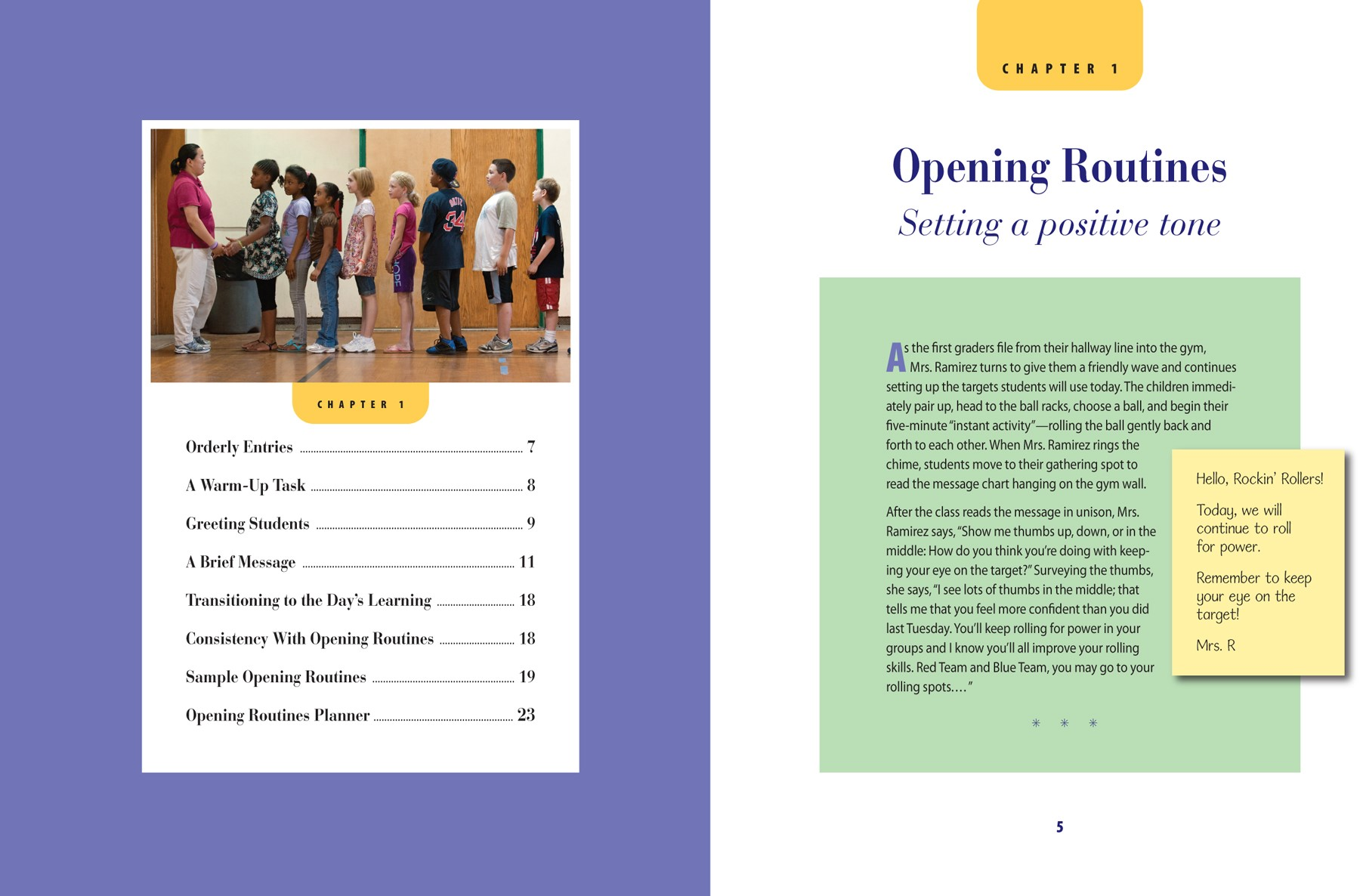 Classroom Energizer Ideas ~ Book review responsive classroom teaching with orff