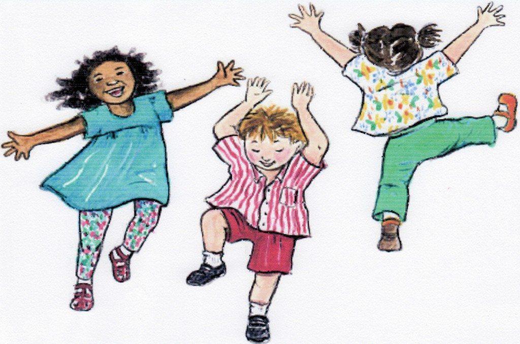 3 kids dance