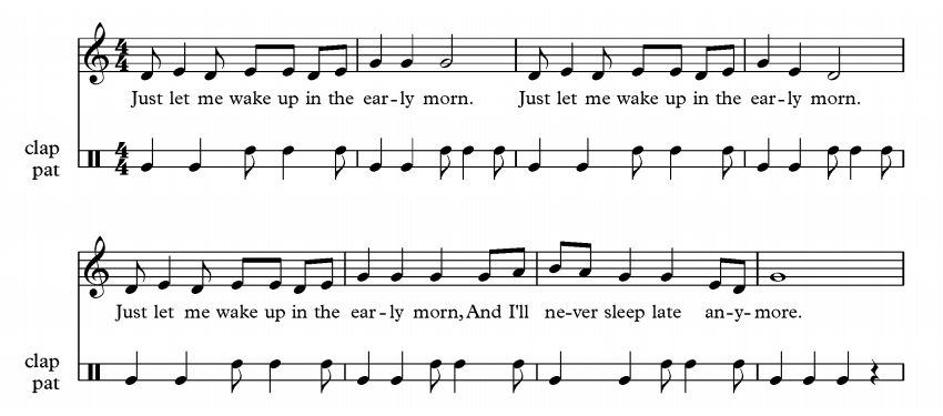 rhythmic ostinato