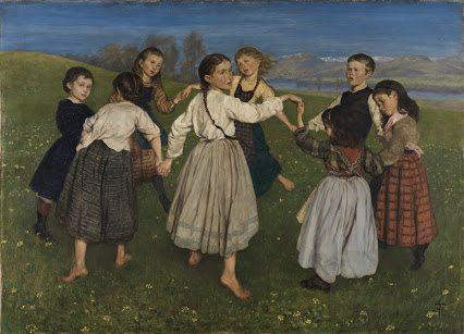 family folk dance night