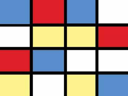 mondrian grid 1