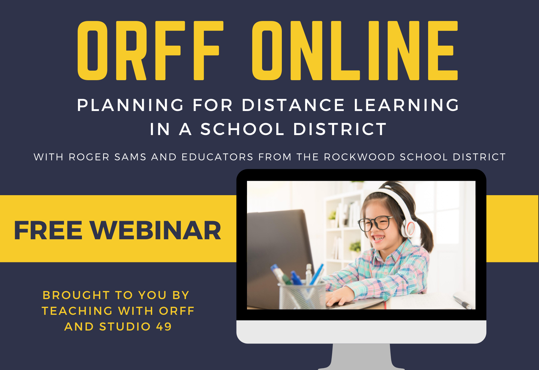 distance learning in a distrcit